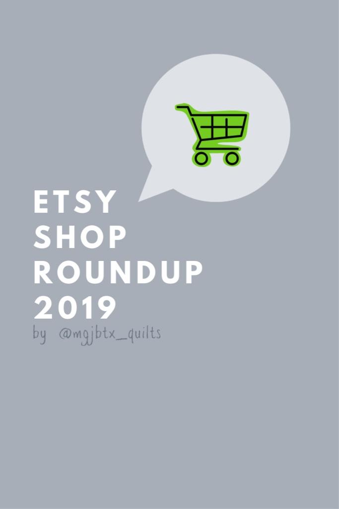 Etsy Round Up